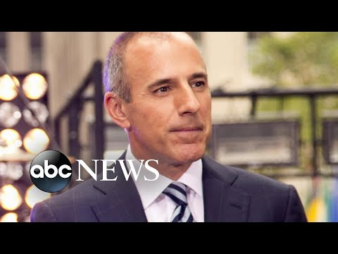 Matt Lauer fired for alleged 'inappropriate sexual behavior in the workplace'