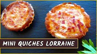 Receta De Las Mini Quiches Lorraine