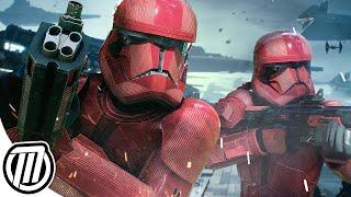 Star Wars Battlefront 2: Sith Fleet | RISE OF SKYWALKER Gameplay