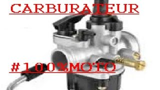 *tuto n°2 comment régler son carburateur#100%MOTO*