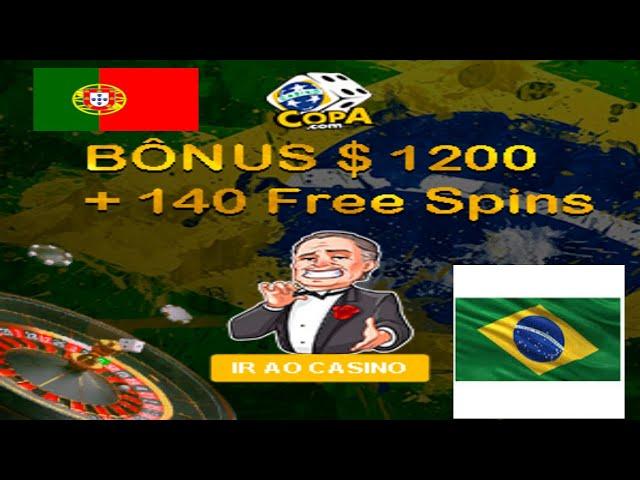 Jogando Roleta Europeia no CASINO COPA ➡ casino online ganhar 100€ a 777€