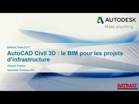 AutoCAD Civil 3D le BIM pour les projets d'infrastructure