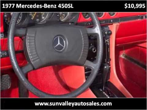 1977 mercedes benz 450sl used cars hailey id youtube. Black Bedroom Furniture Sets. Home Design Ideas