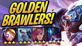 SO MANY GOLDEN BRAWLERS?! ⭐⭐⭐   Teamfight Tactics   TFT   League of Legends Auto Chess