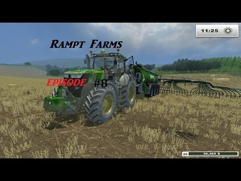 Rampt Farms #8 jet wash time  (Farming simulator 2013 Titanium ) pc