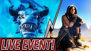 POLAR PEAK LIVE EVENT STARTET ?💯🔥 SANDSTORM & SCIMITAR SKIN KOMMEN 🏜️ | Fortnite Battle Royale
