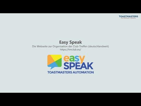 Einführung in Easy Speak - Karlsruher Redeclub