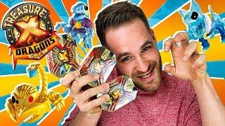 Treasure X Dragons Series 2 UNBOXING 3 CAJAS MINI BESTIAS | Mega UNBOXING Treasure X en Pe Toys