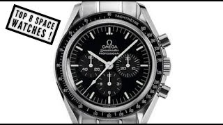 Top 8 Space Watches! Swiss and Russian Watches you