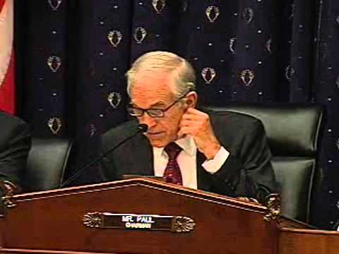 Ron Paul Hearing on The Fed: Mend It or End It? PART 1 -- 5/8/12