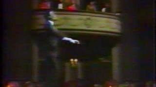 Clive Baldwin as Al Jolson in The Last Great Vaudville show Pt 2