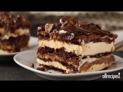 How to Make Ice Cream Lasagna | Dessert Recipes | Allrecipes.com - YouTube