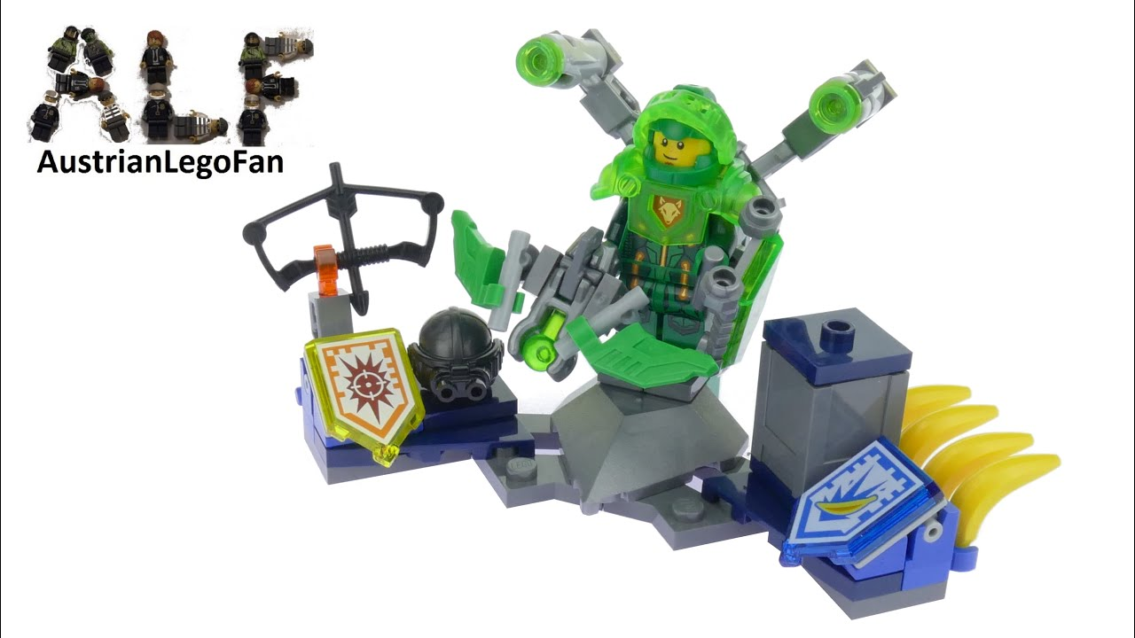 lego nexo knights 70332 ultimate aaron lego speed build
