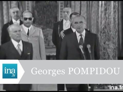 Georges Pompidou reçoit Habib Bourguiba à l'Elysée - Archive vidéo INA