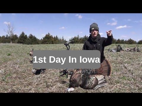 First Hunt In Iowa | Episode 9: Turkey Tour Day 1, Iowa | The Wild Outdoors |