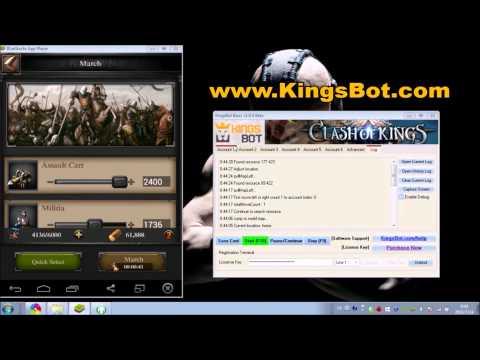 Clash of Kings Bot - Hack & Cheats