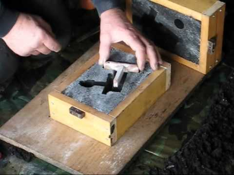 Metal Casting At Home Part 21 Core Amp Mould Making Casting