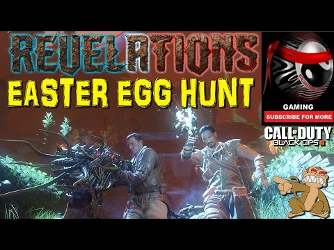 "BO3 Zombies ""REVELATIONS"" MAIN EASTER EGG HUNT W/ The Ninjas (Low Round Strategy)"