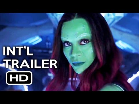 Guardians of the Galaxy Vol. 2 Official International Trailer #1 (2017) Chris Pratt Movie HD