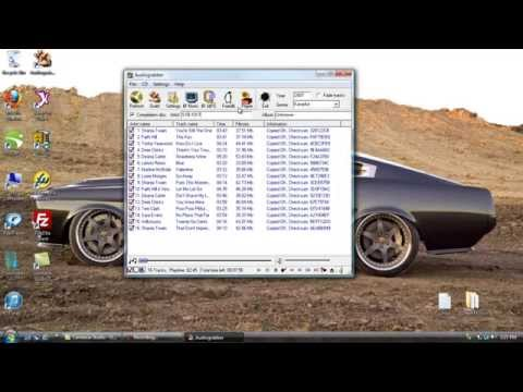 How To Rip CDG (CD+G) Disc Tracks To Your Computer For Free Using Audiograbber CDG Ripping Software