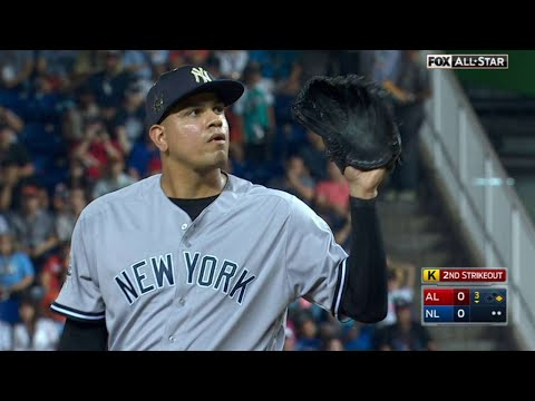 2017 ASG: Betances sits down Stanton swinging in 3rd