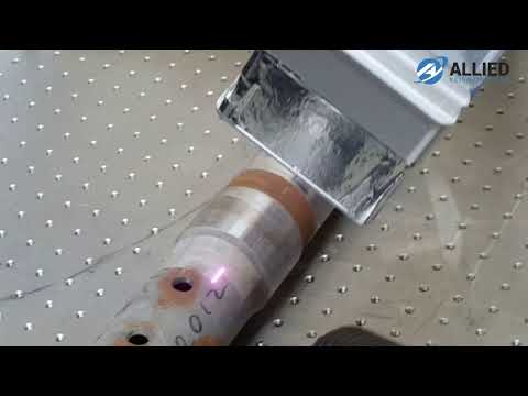 Laser Cleaning System -  Robot Arm metal Pipe Cleaning
