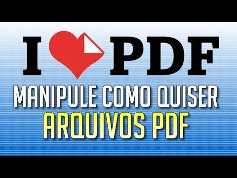 Manipule PDFs como quiser com o I Love PDF!