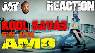 spricht mir aus der Seele! Kool Savas - AMG (feat. Alies) I REACTION