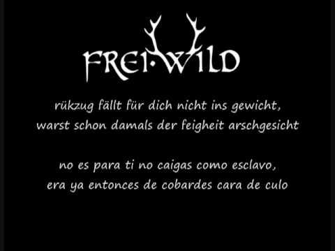 Frei.Wild - Sieger Stehen Da Auf - (sub. Español)