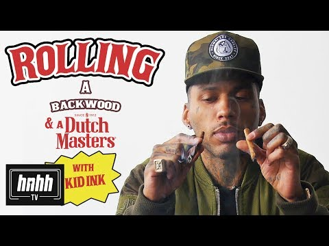 How to Roll a Backwoods & a Dutchmasters with Kid Ink (HNHH)