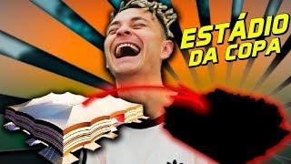 FIZEMOS O ESTÁDIO DA COPA DO QATAR DE COMIDA!