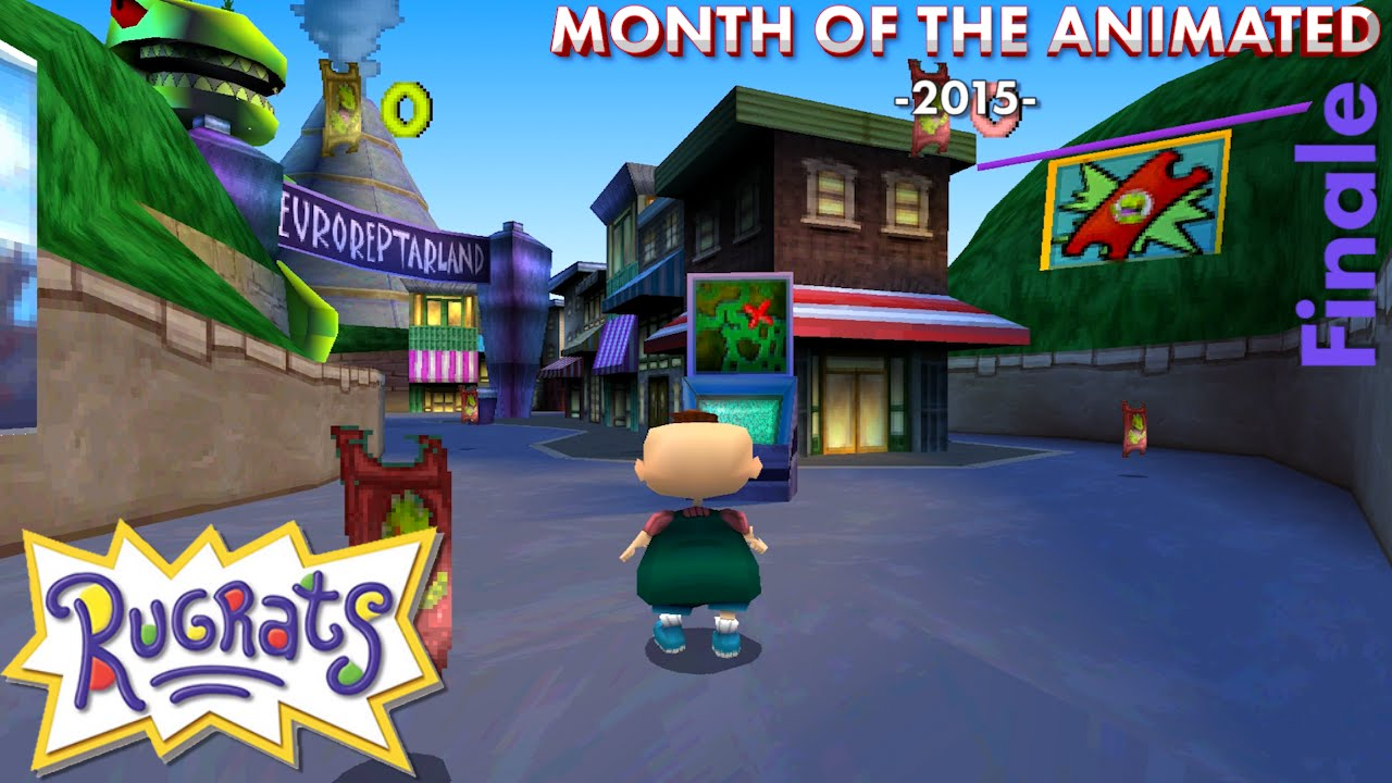 Rugrats Special Part 5 Rugrats In Paris Ps1 Month Of The