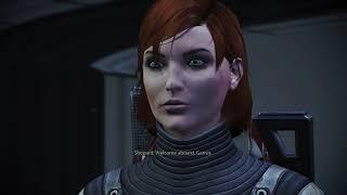 Mass Effect 1 Legendary Edition - Citadel Garrus: Save Dr Chloe Michel Gameplay And Cutscene Choices