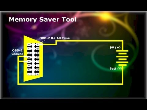 ECM-ECU Memory Saver Tool