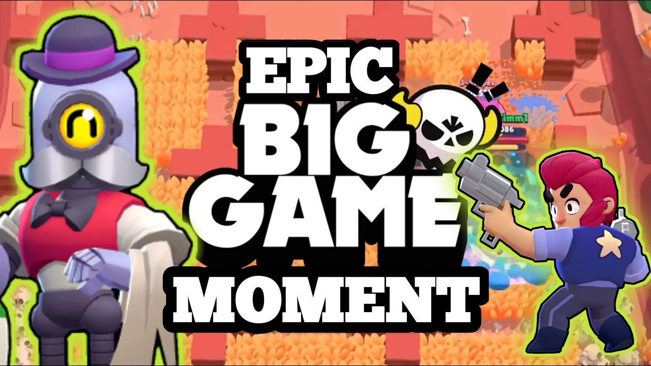 MUST WATCH !!! || EPIC BIG GAME MOMENT WITH FUNNY COMMENTARY || BRAWL STARS  FUNNY MOMENTS !!! - YouTube