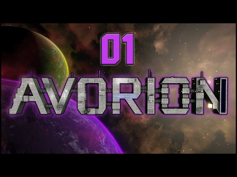 Suchtgefahr im All - Avorion #01 [Gameplay German Deutsch]