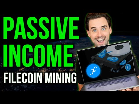 Earn PASSIVE INCOME with Filecoin - NEW Blockchain opportuni