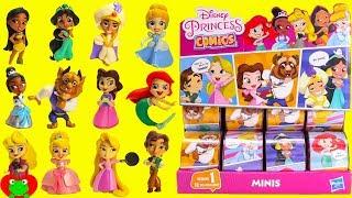 Genie Opens Princess Comics Surprises