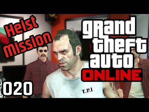 GRAND THEFT AUTO ONLINE #020 • HEIST! Sex, Drugs & Trevor • Let's Play GTA Online [HD] Deutsch