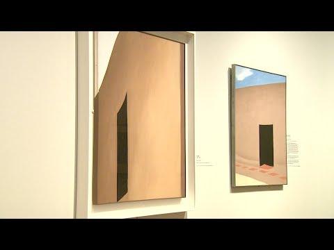 """Georgia O'Keeffe: Living Modern"" at Reynolda House Museum of American Art"