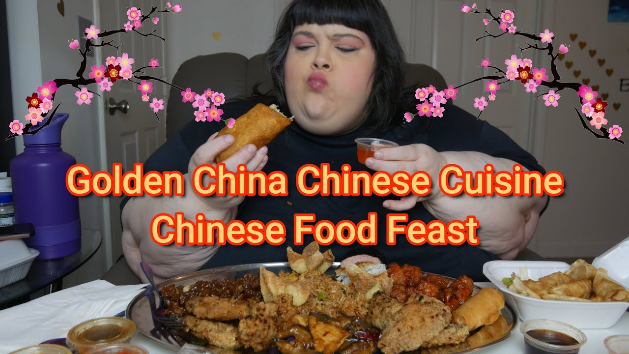 Golden China Chinese Cuisine Chinese Food Feast Mukbang