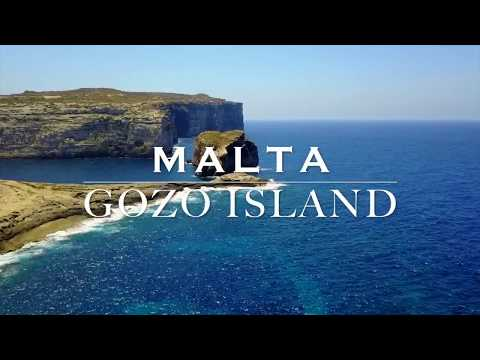 Gozo Island - Malta - Drone Aerial 2017