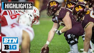 Highlights: Gophers Move to 6-0 for First Time Since 2003 Nebraska at Minnesota Oct. 12, 2019