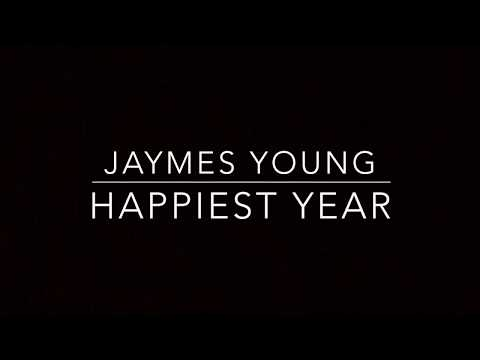 Happiest Year (Piano Karaoke Instrumental) Jaymes Young