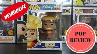 FUNKO POP DISNEY THE EMPEROR'S NEW GROOVE KUZCO unboxing review PLUS GIVEAWAY