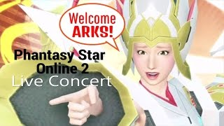 Youkoso ARKS song by Sachiko Kobayashi Live Concert! Phantasy Star Online 2 PS4/PC