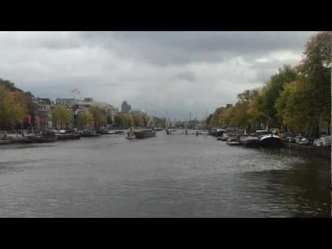 AMSTERDAM GUIDE view Skinny bridge opens above Amstel river