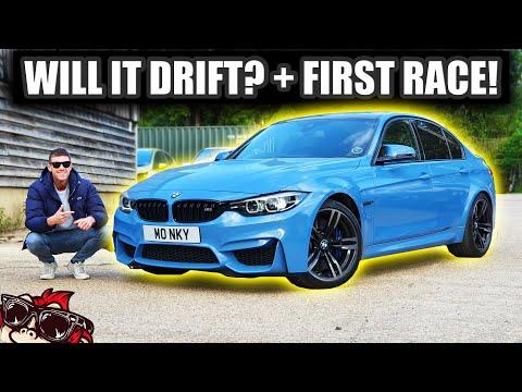 🐒 MY NEW CAR! FIRST RACE + WILL IT DRIFT? BMW M3