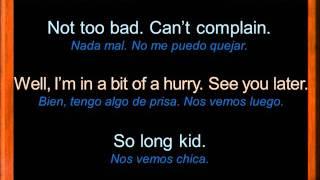 Diálogos Cortos en Inglés | Say Hello, Say Goodbye | Frases en Inglés | Aprende Inglés