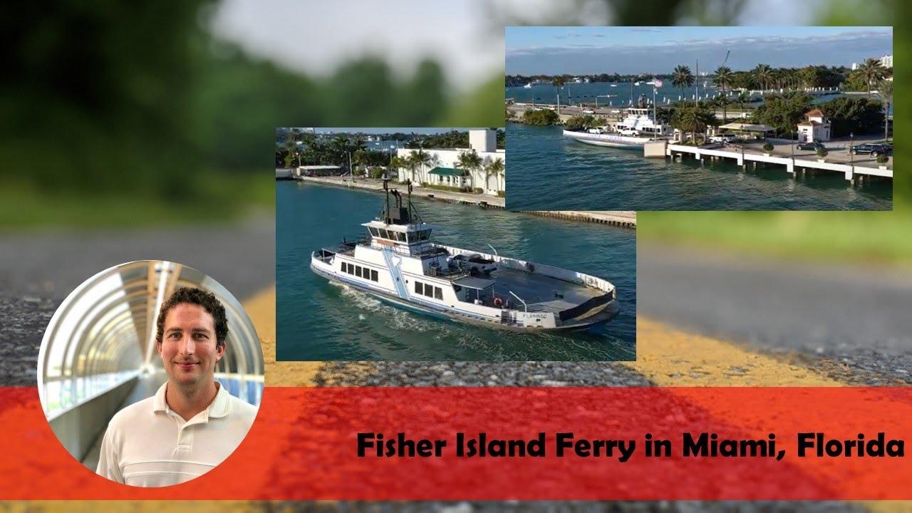 Fisher Island Ferry In Miami Florida